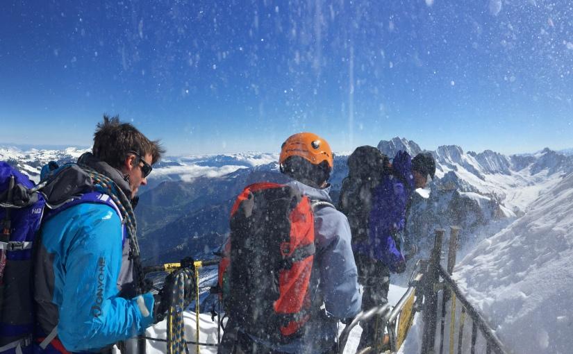 Mont Blanc Contd..